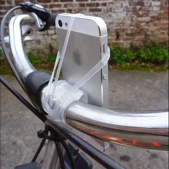 Bande de support pour téléphone en Silicone pour Smartphone support de guidon support de téléphone pour moto pour iPhone pour Samsung GPS installation facile 2