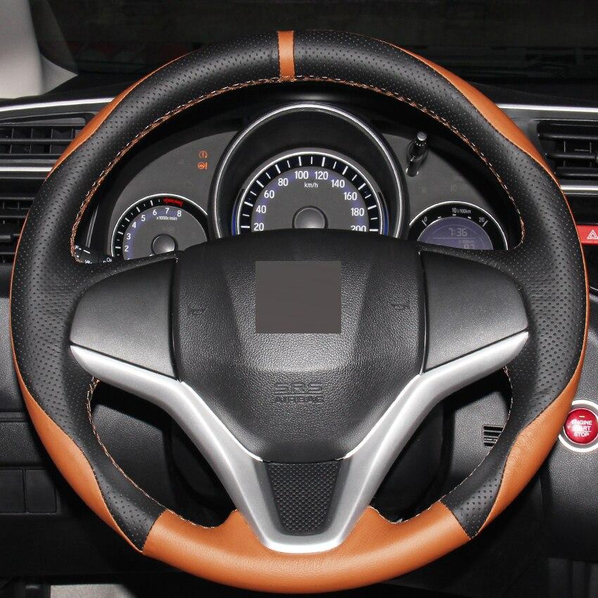 popular honda fit steering wheel cover buy cheap honda fit. Black Bedroom Furniture Sets. Home Design Ideas