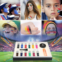 Free shipping 12 color Temporary tattoo Body Art condensation liquid kit 12 colors of simulation tattoo set High Quality