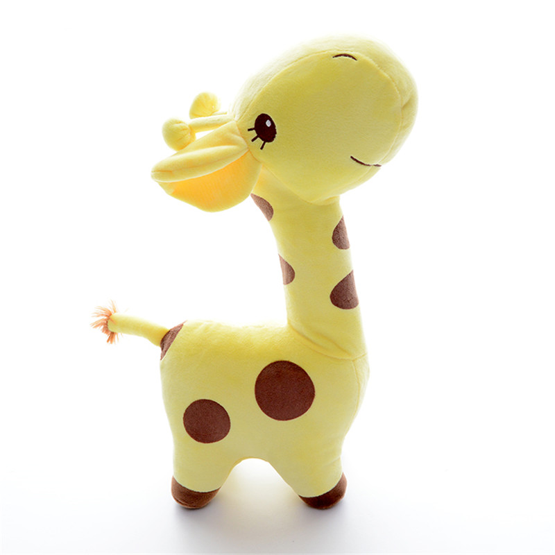 Plush Giraffes Toys Cute Toys for Kids Stuffed Animal Dolls for Best Friends Collection Deer Birthday Gifts for Kids 38cm plush whales toys with soft pp cotton creative stuffed animal dolls cute whales toys fish birthday gift for children