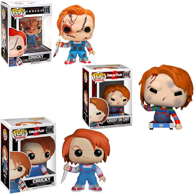 Funko pop Thriller Movie Childs Play & Chucky Vinyl Action Figure Collection Model Toys for Children Birthday gift