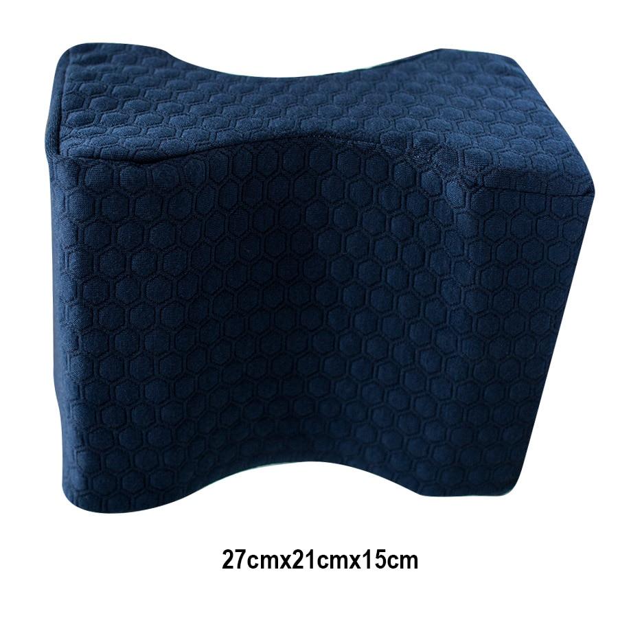 Hot Sale Knee Pillow Memory Foam Orthopedic Contour Knee Spacer Relief Sleep Bed Comfort