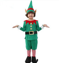 green christmas costumes for boys green fairy costumes for boys halloween cosplay costume green elf costume cute cosplay - Green Fairy Halloween Costume