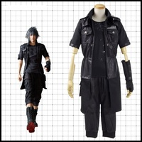 High Q Unisex Anime Cosplay Final Fantasy XV Noctis Lucis Caelum Cosplay Costumes Sets Suit