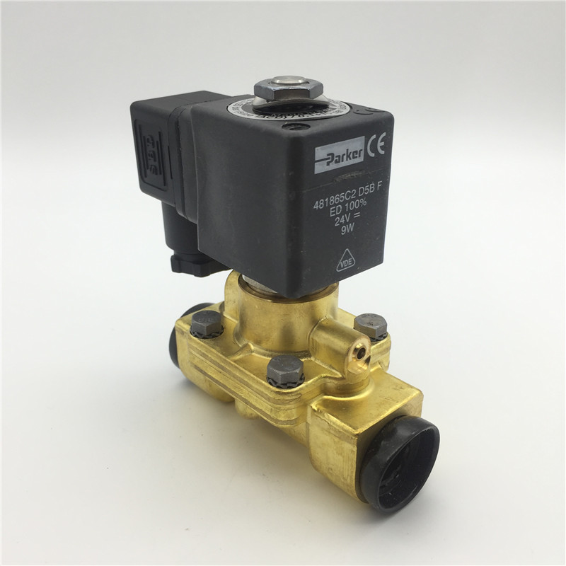 все цены на Original genuine 7321BIN00 DC24V AC220V water valve solenoid valve PARKER two two-way valve with coil 481865C2 4818653D 481865A5 онлайн
