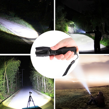 LED Flashlight Tactical Flash light 10000Lumens For Camping