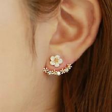 Oorbellen Tin Alloy Figure Women Hot Sale New Arrival Brinco Pendientes Earing Tassel Earrings 2019 Korea Stud Flowers Pearl