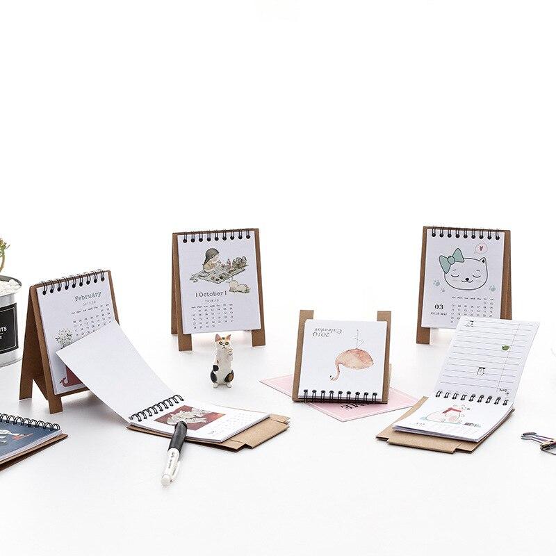 Super Perpetual Kalender Einzigartige Einstellbare Desktop Kalender Büro Liefert Wohnkultur Schule Schreibwaren Student Geschenk C26 Kalender
