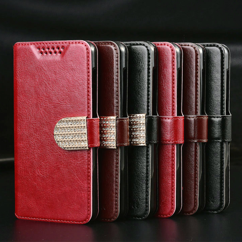 Luxury Retro Leather Flip Cover Case for ZTE Axon Mini 7 Mini 7 A2017 <font><b>A2018</b></font> 7S AF3 T221 A3 A5 Pro Cover Wallet Silicone Case image