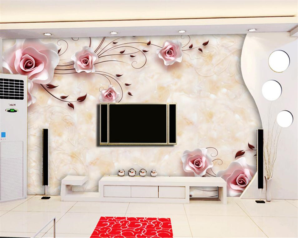 Beautiful Wallpaper Marble High Definition - Beibehang-Wall-murals-wallpaper-high-definition-marble-rose-photo-mural-wallpaper-3D-living-room-bedroom-wall  Image_968077.jpg