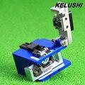 KELUSHI FTTH Fibra Óptica de Alta Precisión Cleaver Fibra Cortador Herramienta De Corte Cuchillo herramientas para 125um Monomodo Óptica