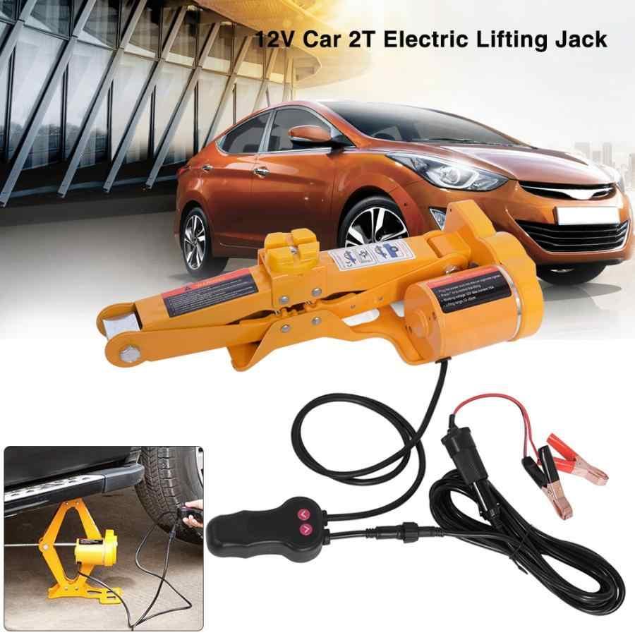 Overzeese 2 Ton 12V DC Automotive Auto Automatische Elektrische Krik Garage en Emergency Apparatuur