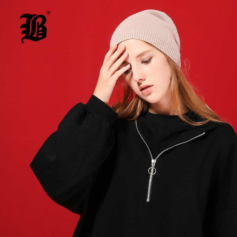 [FLB] Autumn Winter Women's   Beanies   Hat Ladies Female Wool Knitted Warm   Skullies     Beanie   Cap Ear Flaps Girls Cute Bonnet 17038