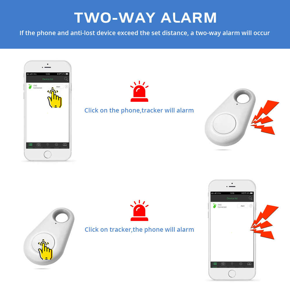 ペットスマートミニ GPS 犬トラッカーアンチロストアラーム防水 Bluetooth トレーサーペット犬猫財布キー子供ポケットトラッカー機器