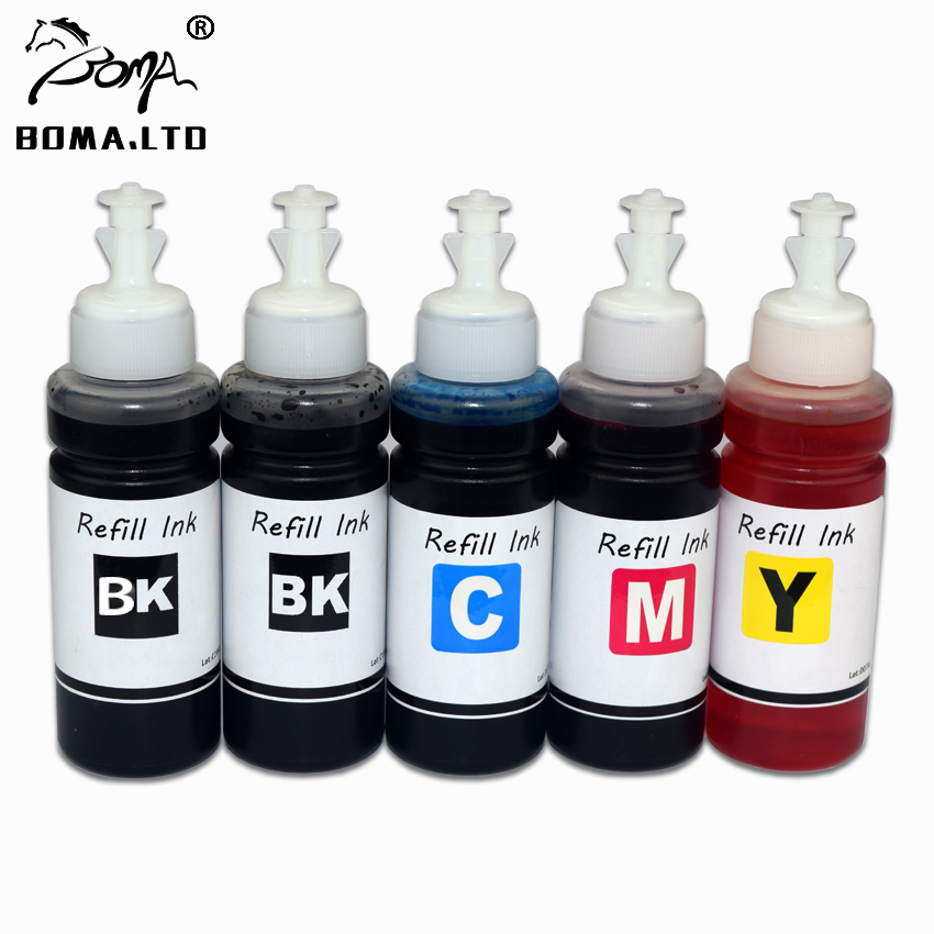 <font><b>5</b></font> Pieces/Lot For HP 932 933 Dye Ink For HP Officejet Pro 7512 7510 7612 6100 <font><b>6600</b></font> 6700 7610 7110 6800 Printer Plotter image