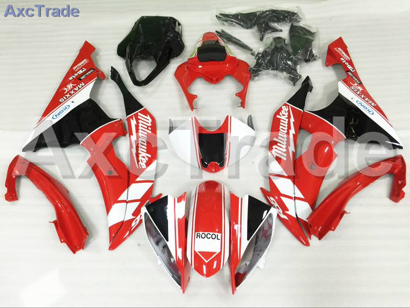 Moto Motorcycle Fairing Kit For Yamaha YZF600 YZF 600 R6 2008 2009 2010 2011 2012 2013 2014 2015 2016 ABS Plastic Fairings A813 hot sales yzf600 r6 08 14 set for yamaha r6 fairing kit 2008 2014 red and white bodywork fairings injection molding