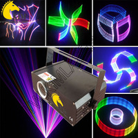 ILDA+2D+3D+SD 500mw RGB laser light/free ishow software in SD card/3D laser/SD laser/dj lighting/Stage lighting/Party lighting