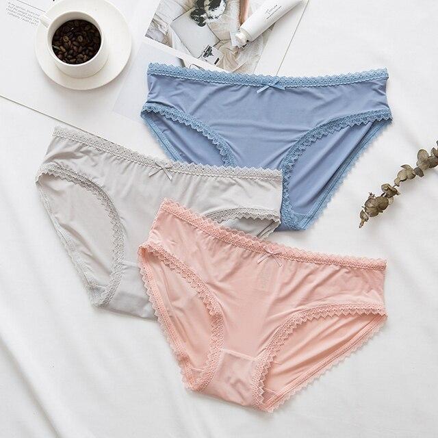 LUOCHEN culottes tanga sous-vêtements en coton slips Lingerie respirante culotte intimes ropa intérieur femenina sous-vêtements femmes S1911