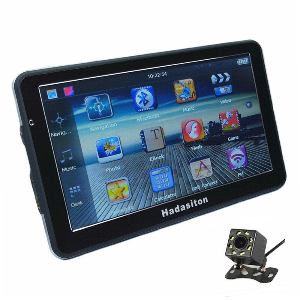 Hot 7 touch screen Car GPS Navigation 256M 8GB SAT NAV CPU800M FM Free Maps Bluetooth