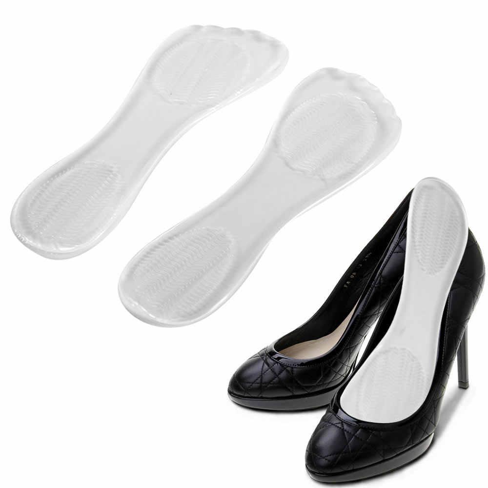 1 คู่ซิลิโคนเจลรองเท้า Pad Insoles รองเท้าส้นสูงเบาะยืดหยุ่นซิลิโคน Orthotic Arch Support แผ่นลื่นแทรก dropship