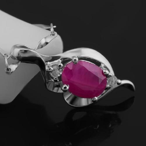 Колье ожерелье Qi Xuan_Red Stone цветок кулон ожерелье_ Настоящее ожерелье_ качество eded_производитель напрямую