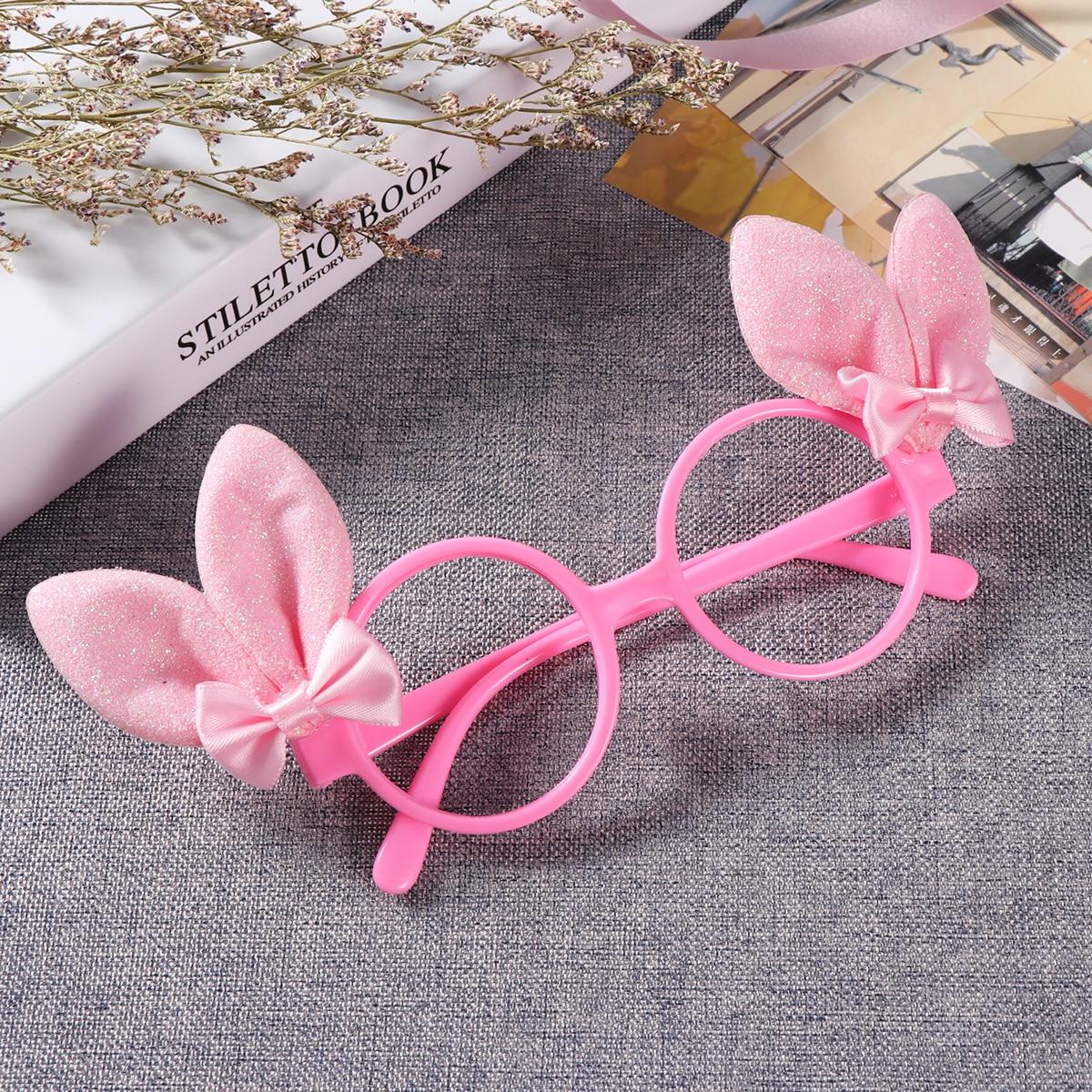 Ostern Phantasie Kleid Bowknots Glitter Bunny Ohren Glasrahmen ...