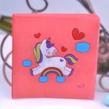 20pcs 33*33cm Red Unicorn theme Paper Napkin Tissue for kids birthday party decoration