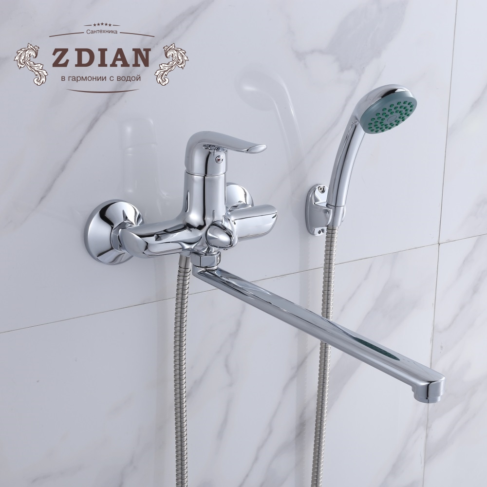 High Quality Newly Bathroom Shower Faucets set Bathtub tap Mixer Wall Mounted Waterfall Bathtub Faucet With Hand Shower Head