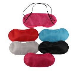 1 PC 9 colores descanso dormir ayuda para dormir máscara de ojo cubierta de sombra de ojos comodidad salud Blindfold escudo viaje cuidado de los ojos herramienta de belleza