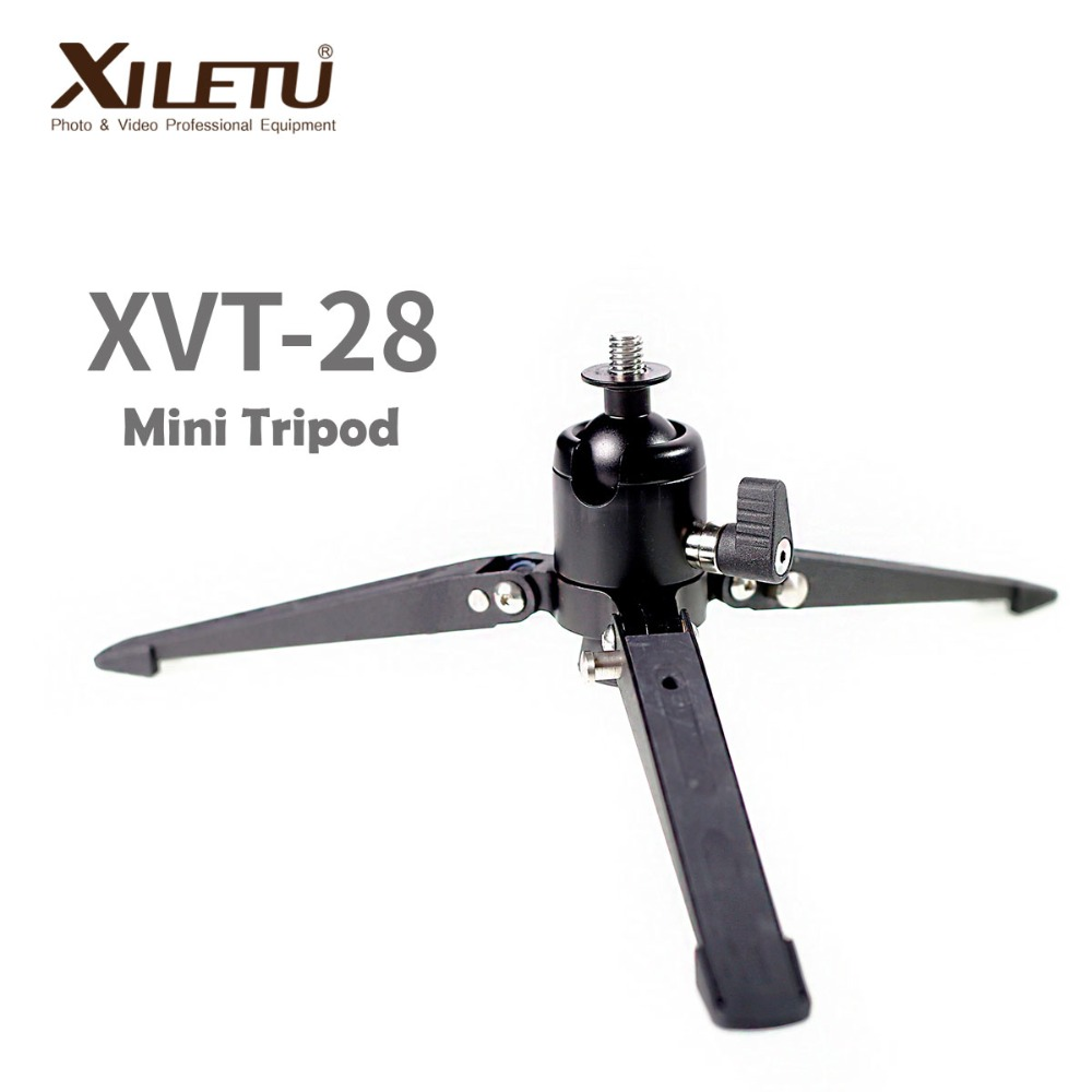XILETU XVT28 Monopod Support Frame Fitting with Ball head&Monopod of 3/8inch Interface Screw For Benro