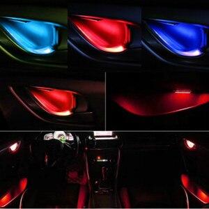 JURUS 4Pcs Universal LED Inner