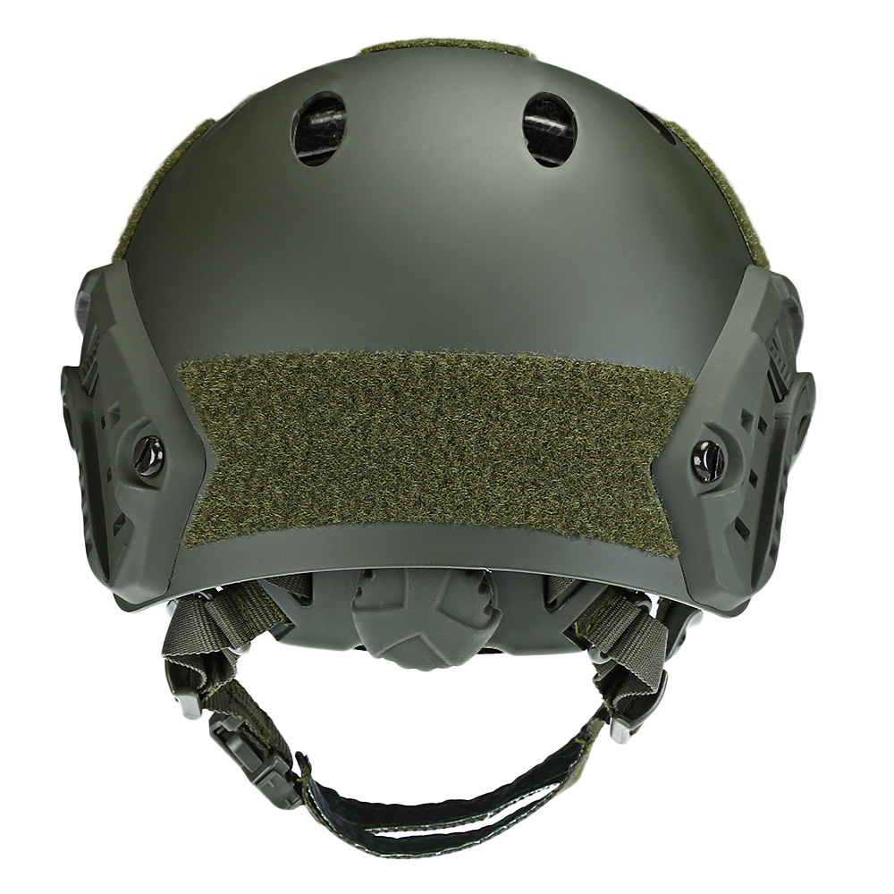 Adjustable Tactical Helmet Airsoft Gear Face Mask Helmet Paintball Head Protective with Night Vision Sport Camera