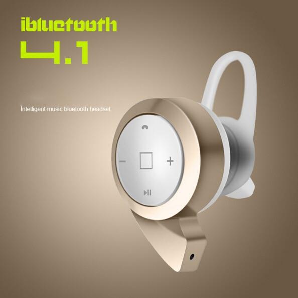 Hot !  Ear Hook Top quality stereo headset bluetooth earphone headphone mini V4.0 wireless bluetooth handfree for iPhone Samsung