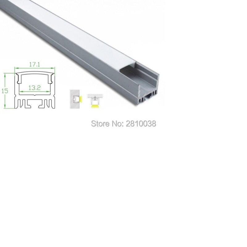 12 X 1M Sets/Lot Home design aluminium <font><b>led</b></font> profile and <font><b>17mm</b></font> wide U channel <font><b>led</b></font> extrusion for wall or ceiling lights