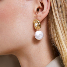 JUJIA Earrings pearl/pendientes/Drop/aretes/korean/fashion/earrings for Women pendientes mujer moda 2019 Sea Shell Earrings
