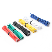 24AWG Tin-Plated Breadboard Jumper Cable Wire 8cm 24AWG Fly Jumper Wire Cable Tin Conductor Wires 1007-24AWG