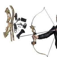 Camo design in plastica ABS arco prendere giù tipo £ tiro arco tiro con l'arco sport all'aria aperta alimentazione 1 pezzo