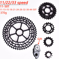 SUNSHNE MTB 11 Speed 11 50T Cassette Ultralight Bicycle Freewheel 11t Bicycle Parts Mountain For Shimano M9000 M8000 M7000