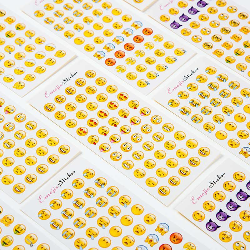 Bonito Dos Desenhos Animados Emotionalhealing Memo pad Adesivos Postou Planejador Kawaii Scrapbooking Papelaria Adesivo Escolar Material Escolar