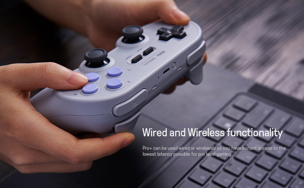 SN30 pro plus Official 8BitDo SN30 PRO+ Bluetooth Gamepad Controller with Joystick for Windows Android macOS Nintendo Switch 18