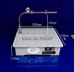 Новый Бесплатная доставка 220 V станок для распила досок Рабочая подставка Настольный инструмент пенополистироловый резак резки пены KT