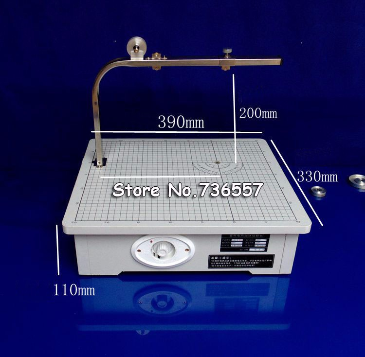 New Free Shiping 220V Board Cutting Machine Working Stand Table Tool Styrofoam Cutter CUTS FOAM KT