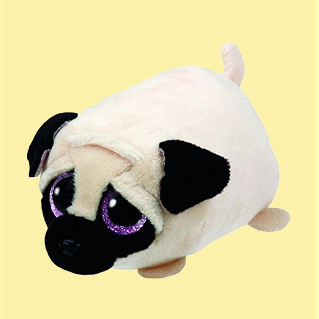 5948866a89a TY Beanie Boo Plush - Icy the Seal 9cm Original Ty Beanie Boos Big Eyes  Plush Toy Doll Purple Panda Baby Kids Gift S59