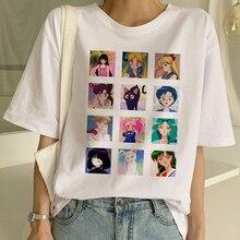 Sailor Moon Summer Harajuku T-Shirt Top SF