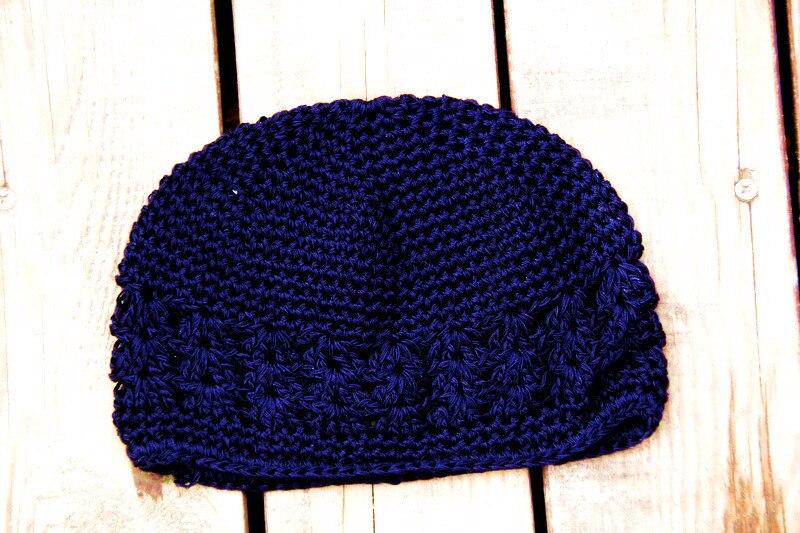 21 Colours New High Quality Baby Crochet Cap Skullies Kufi Hats