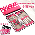 Nail clipper set cartoon 11 stainless steel finger scissors beauty nail art manicure tools finger plier