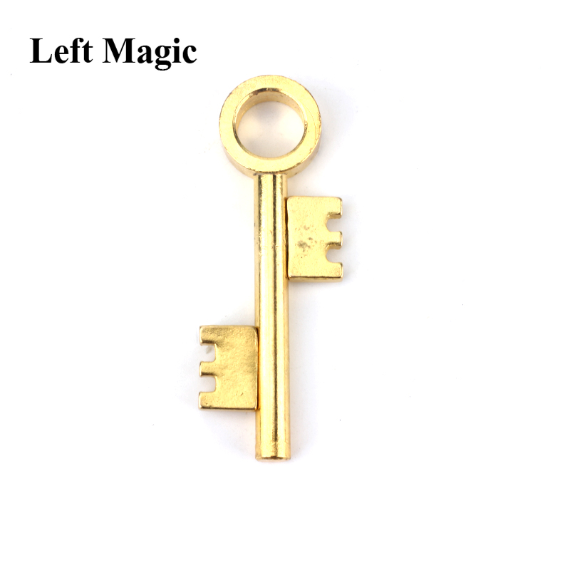 Surprise Ghost Moving Key Magic Tricks Spooky Close-Up Stage Magic Props Accessories Joke Toy Easy To Play C2083