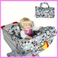 Newborn Infant Supermarket Shopping Cart Cover Portable Bag Child Safety Seat Cushion Dinning Chair Seat Cushion