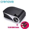 Crenova RD-805B Поддерживает Корейский Новейший Мультимедийный Портативный Проектор Мобильный Телефон, Портативный DVD Проекторы для Домашнего Использования