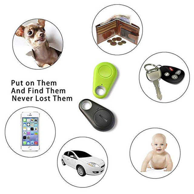 Para Mascotas Mini Rastreador GPS Inteligente Bluetooth Anti-perdido Dispositivo Inteligente dispositivo Anti-robo localizador 5